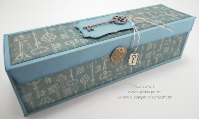 Distressed Key Box