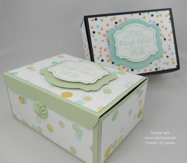 Stampin' Up! Laugh Hsrd Box