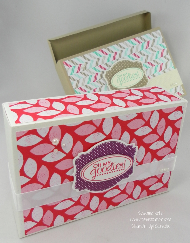 Stampin' Up! Oh My Goodies Box