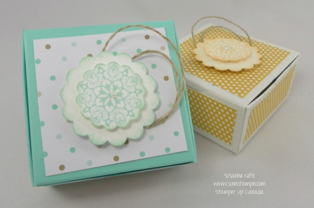 Stampin' Up! Tiny Box
