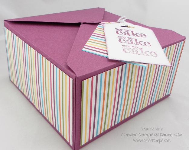 Stampin' Up! Envelope Punch Board Box