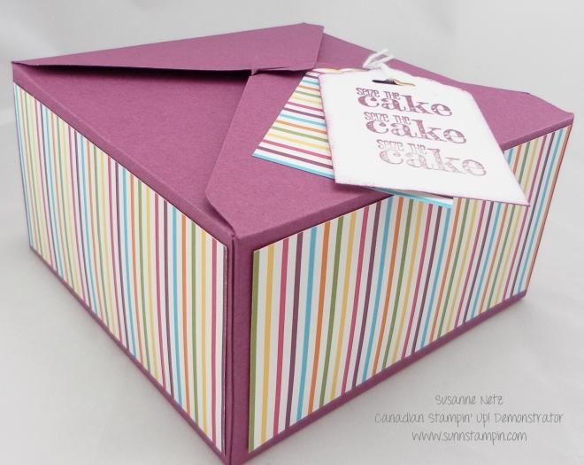 Stampin' Up! Envelope Punch Board Box