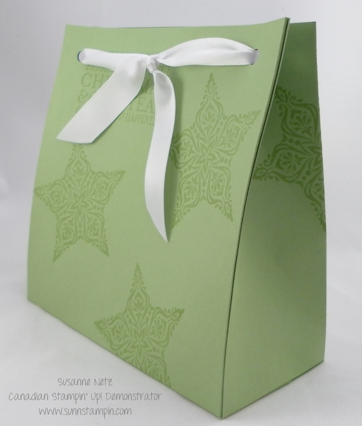 Stampin' Up! Christmas Pouch