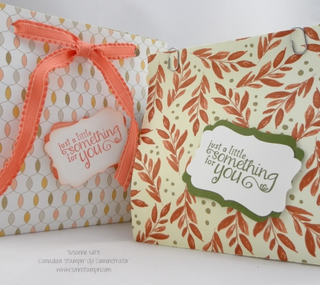 Stampin' Up! Origami Like Box