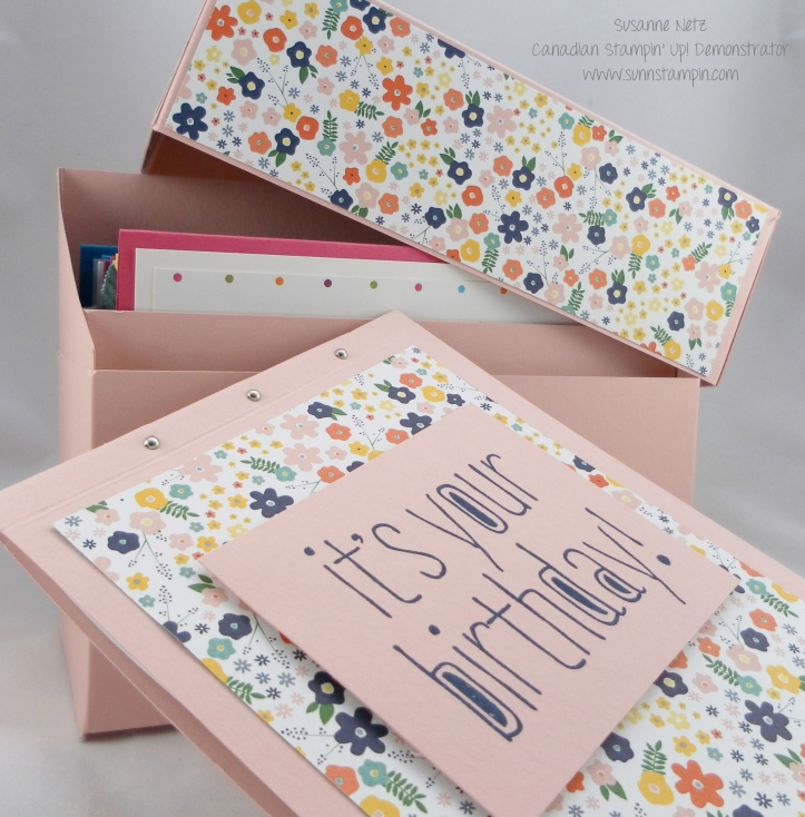 Stampin' Up! Birthday Reminder Box