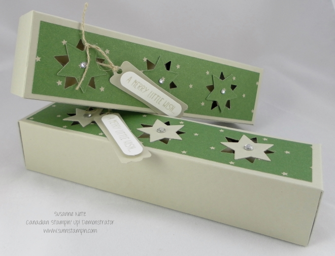 Stampin' Up! Stars box