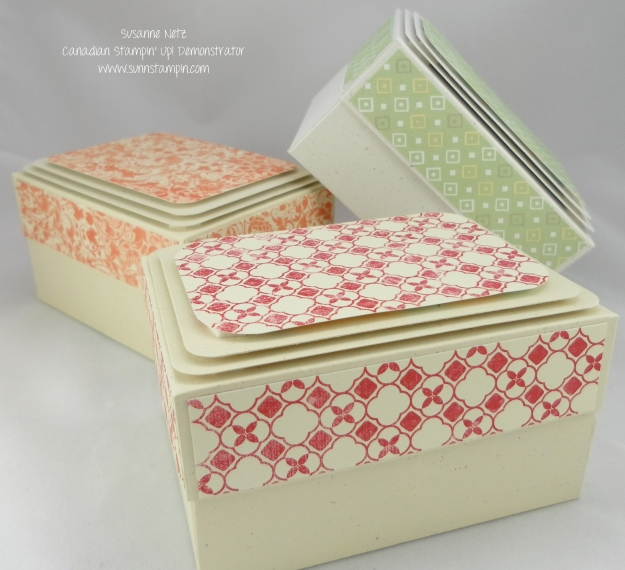 Stampin' Up! Artist Trading Card Box
