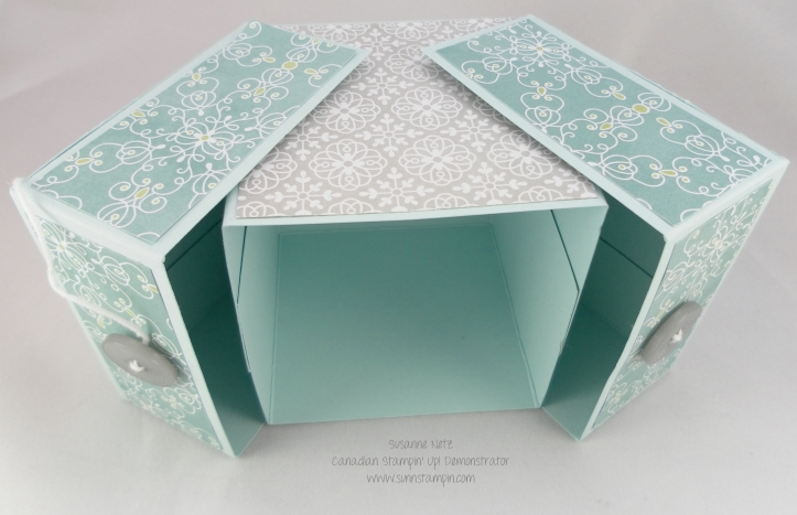 Stampin' Up! Clam shell box