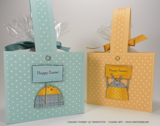 Easter Basket Stampin' Up! Cheerful Critters