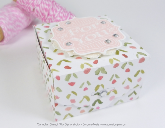 Stampin' Up! Tag Talk with Pretty Petals DSP
