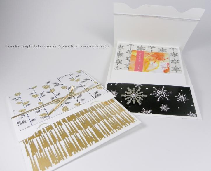 Envelope Punch Board Gift Card Holder