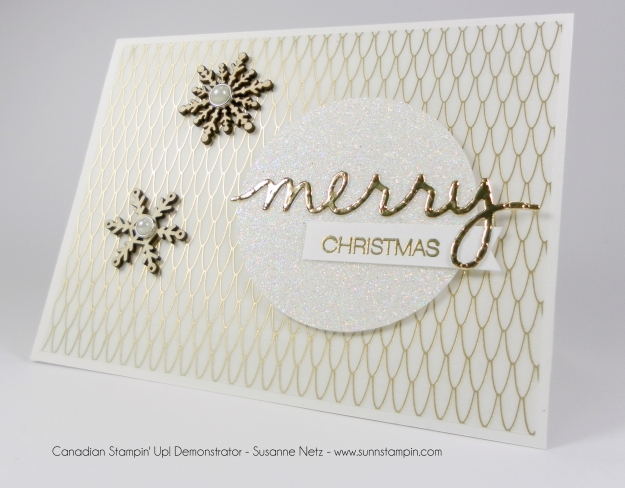 Stampin' Up! Winter Wonderland Vellum